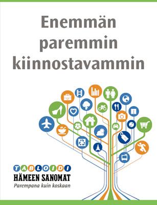 Hämeen Sanomat Tabloid-mainos